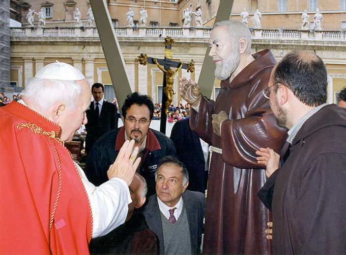 Favorito Statue di Padre Pio   Sculture di Padre Pio   Rossi Statue Sacre  MM96