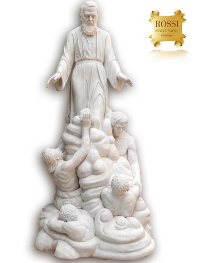 Preferenza Rossi Statue Sacre - Pietrelcina - Italy RE75