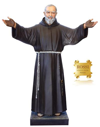 Eccezionale Rossi Statue Sacre - Pietrelcina - Italy FJ45